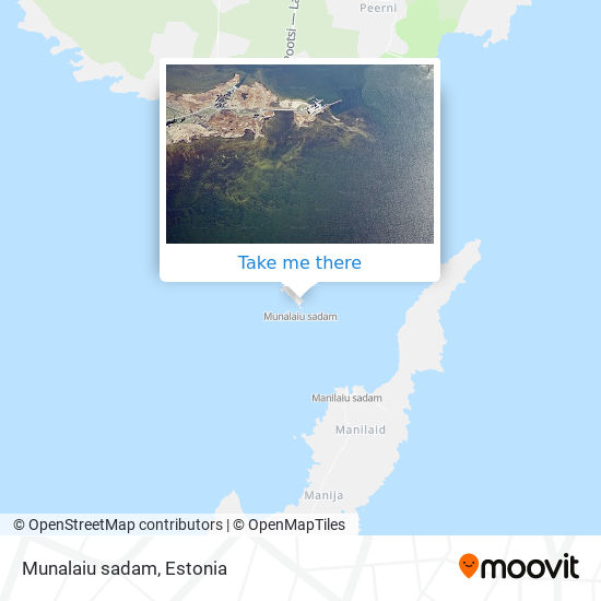 Munalaiu sadam map
