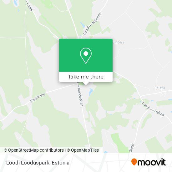 Loodi Looduspark map