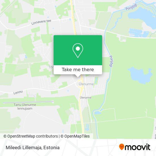 Mileedi Lillemaja map