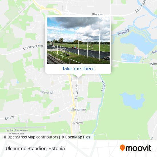 Ülenurme Staadion map