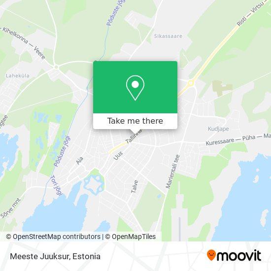 Meeste Juuksur map