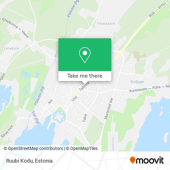 Ruubi Kodu map