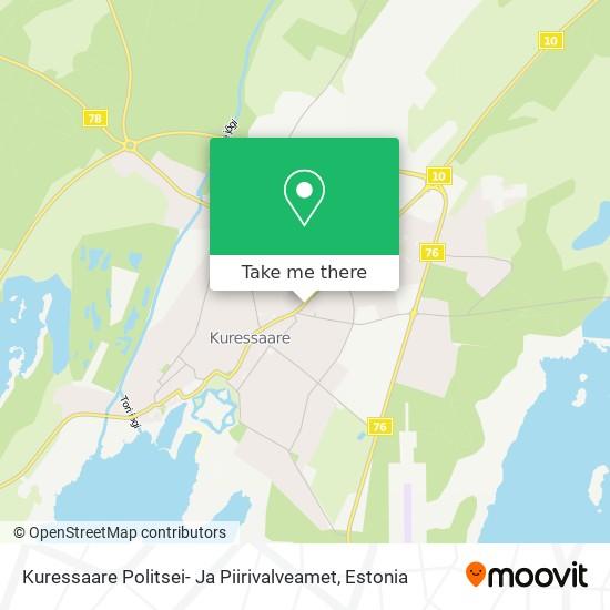 Kuressaare Politsei- Ja Piirivalveamet map