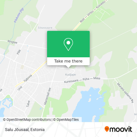 Salu Jõusaal map