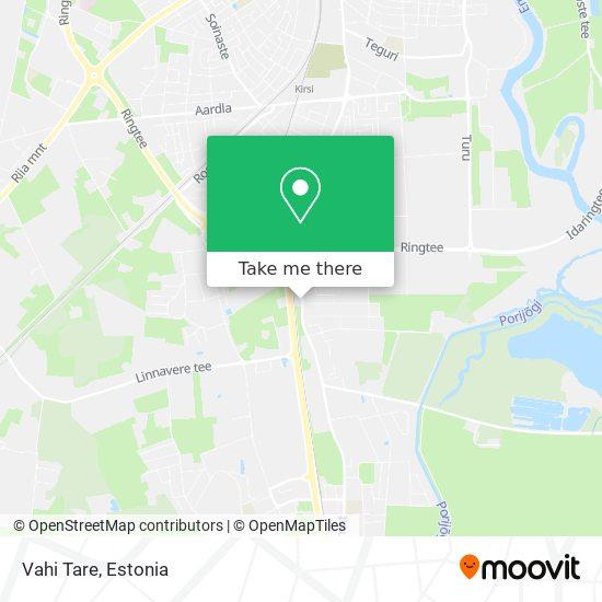 Vahi Tare map