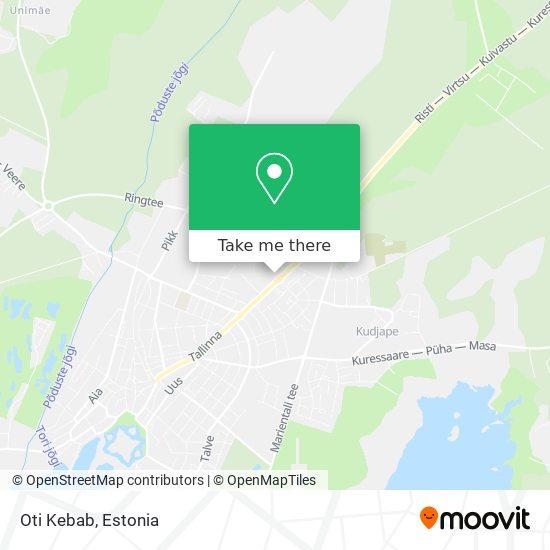 Oti Kebab map