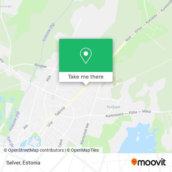 Selver map