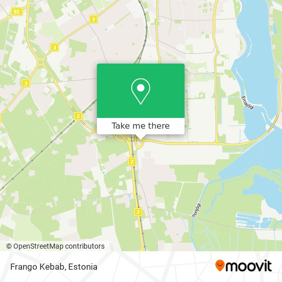 Frango Kebab map