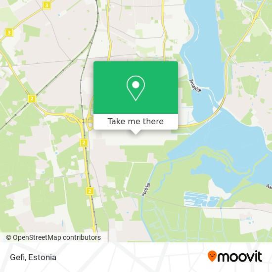 Gefi map