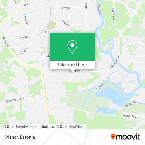 Vianor map