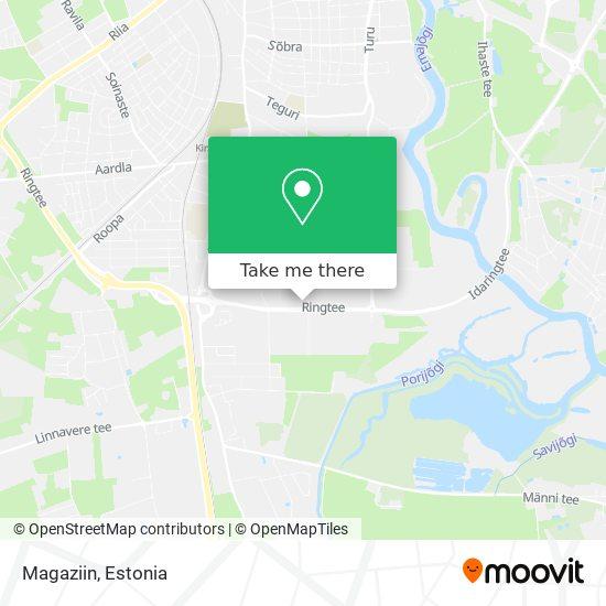 Magaziin map