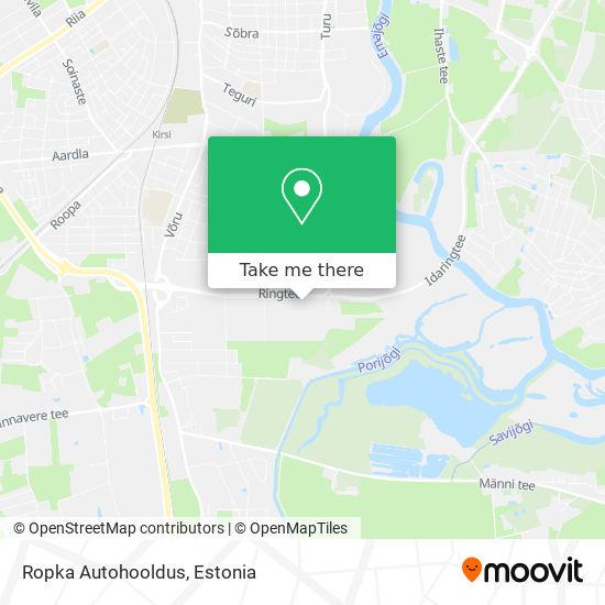 Ropka Autohooldus map