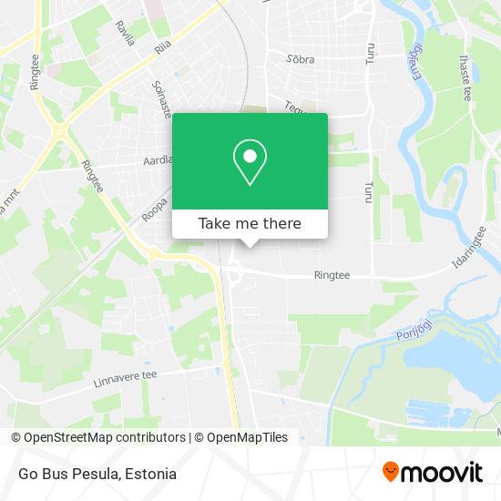 Go Bus Pesula map