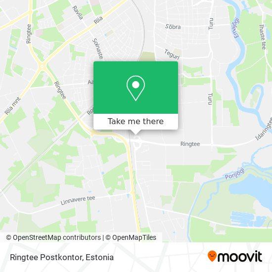 Ringtee Postkontor map
