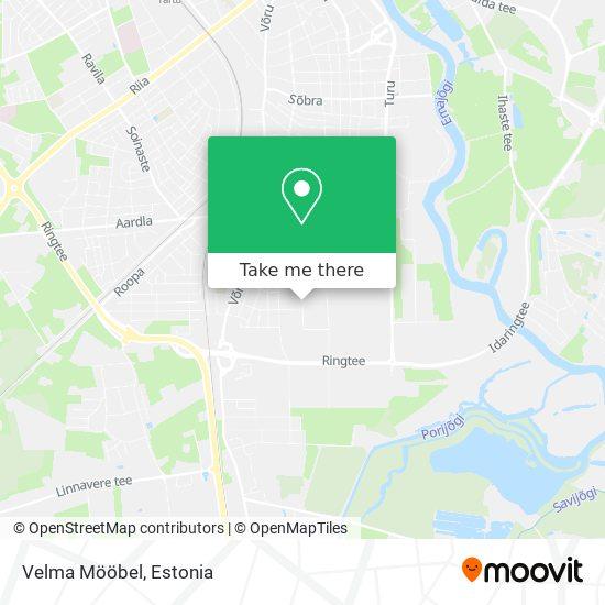 Velma Mööbel map
