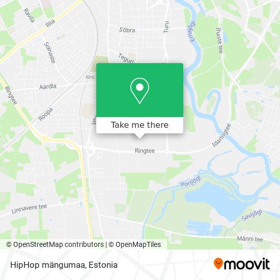 HipHop mängumaa map
