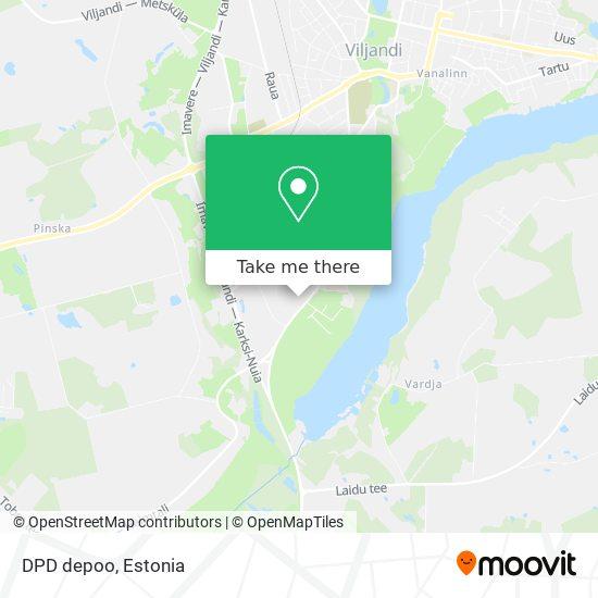 DPD depoo map