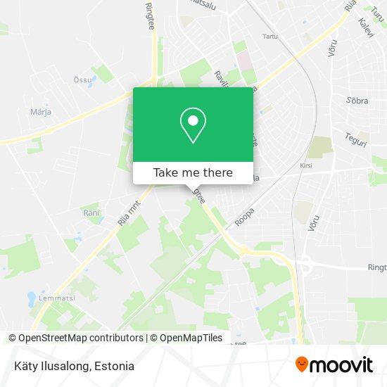Käty Ilusalong map