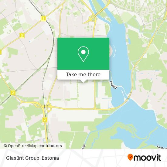 Glasürit Group map