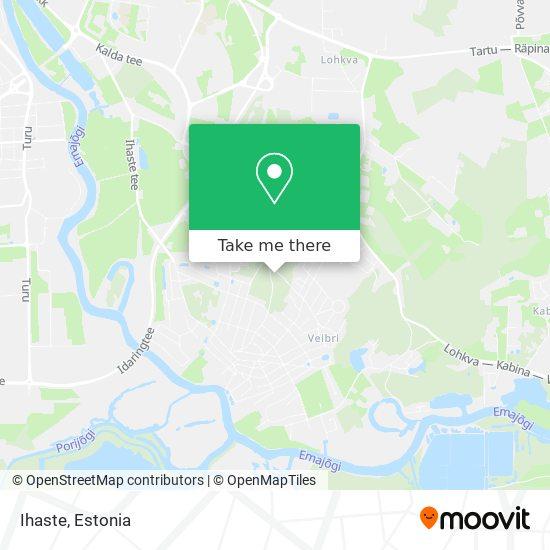 Ihaste map
