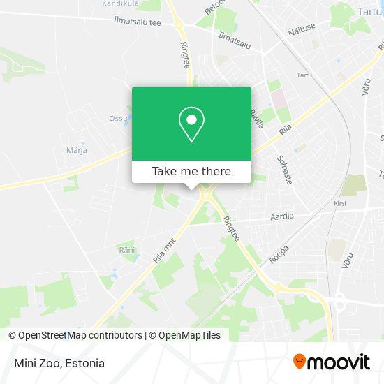 Mini Zoo map