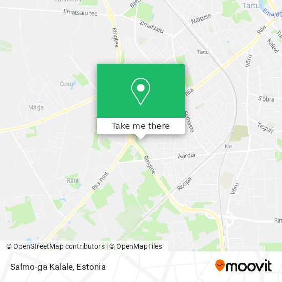 Salmo-ga Kalale map