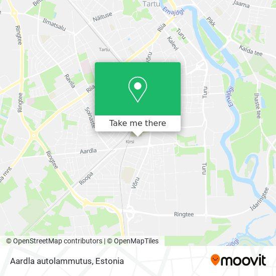 Aardla autolammutus map