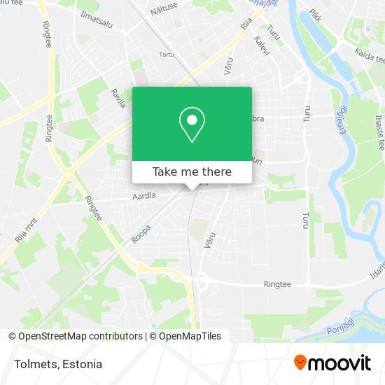 Tolmets map