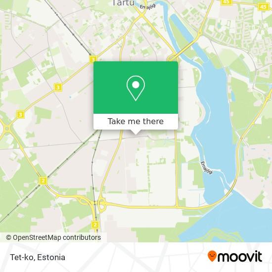 Tet-ko map