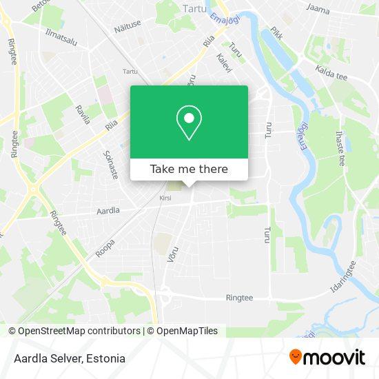 Aardla Selver map