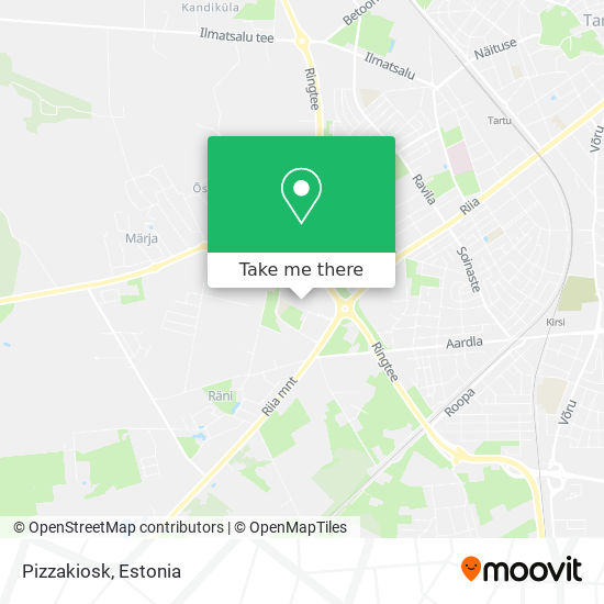 Pizzakiosk map
