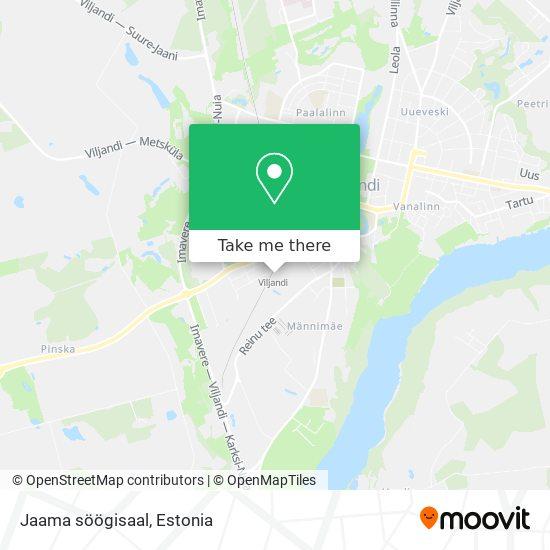 Jaama söögisaal map