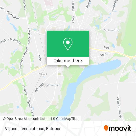 Viljandi Lennukitehas map