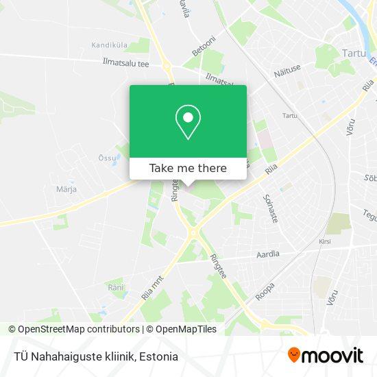 TÜ Nahahaiguste kliinik map