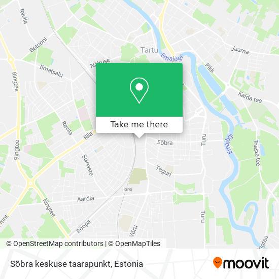 Sõbra keskuse taarapunkt map