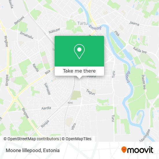 Moone lillepood map