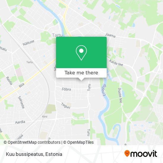 Kuu bussipeatus map