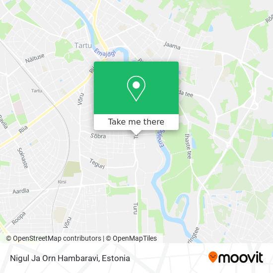 Nigul Ja Orn Hambaravi map