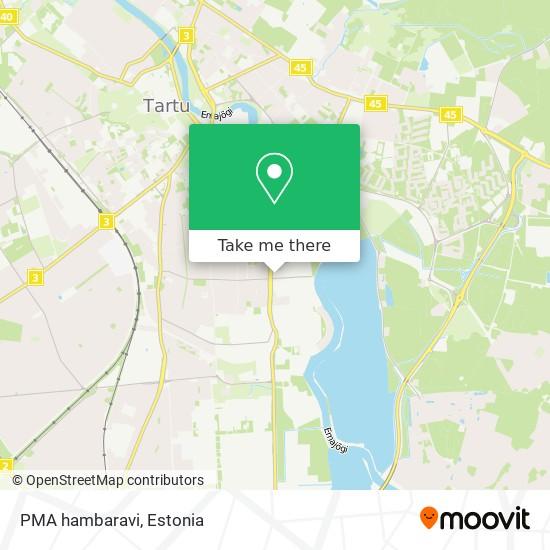 PMA hambaravi map