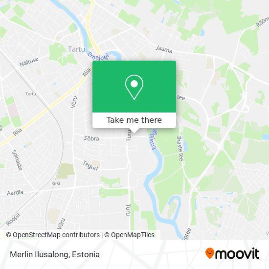 Merlin Ilusalong map
