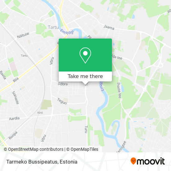 Tarmeko Bussipeatus map