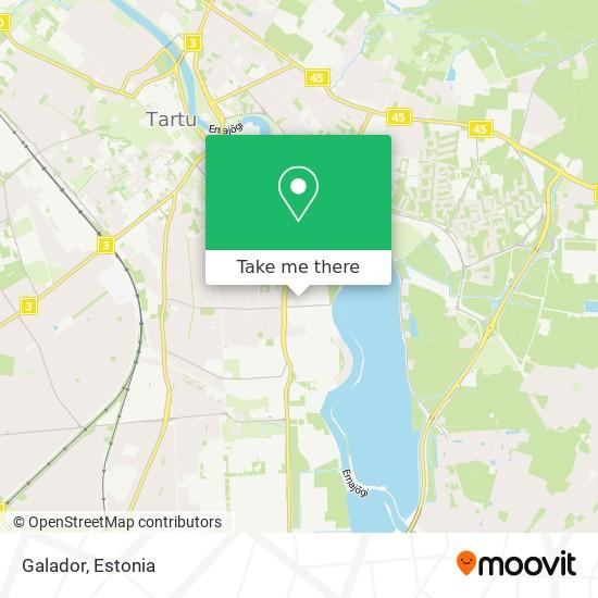 Galador map