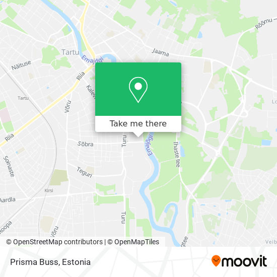 Prisma Buss map