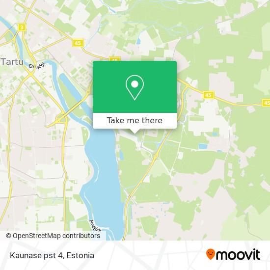 Kaunase pst 4 map