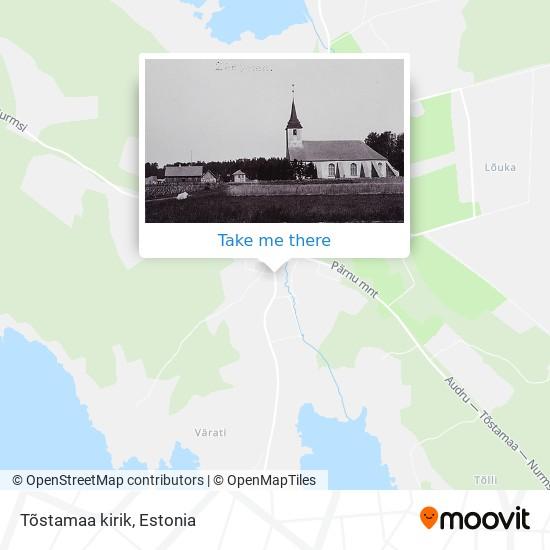 Tõstamaa kirik map