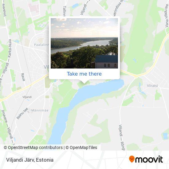 Viljandi Järv map
