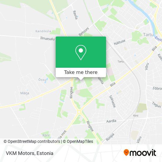 VKM Motors map