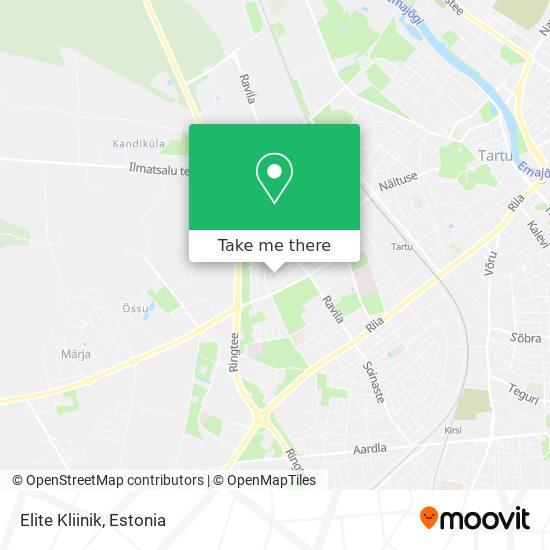 Elite Kliinik map
