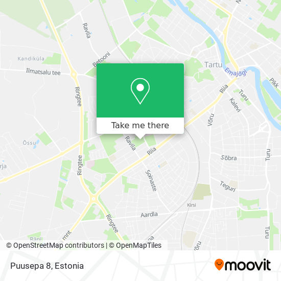 Puusepa 8 map