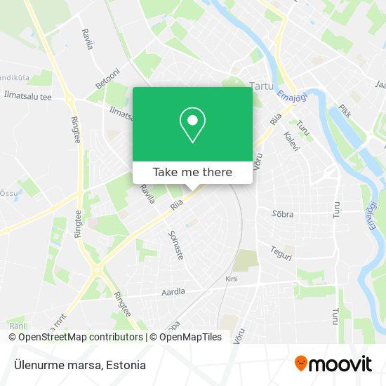 Ülenurme marsa map